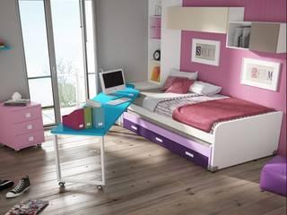 Dormitorios juveniles con camas compactas de Mobihogar-2000 Moderno