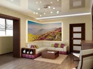 Classic style living room by Цунёв_Дизайн. Студия интерьерных решений. Classic