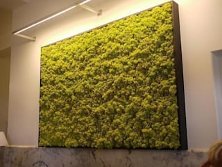 Butik Bahçe Dikey Bahçe ve Peyzaj Tasarımları  – 7 Yıl Boyunca Canlı ve Doğal:  tarz Ofis Alanları