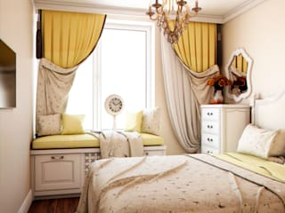 Eclectic style bedroom by Marina Sarkisyan Eclectic