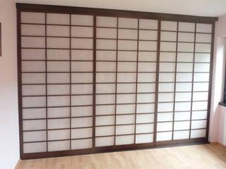 SHOJI japanische Schiebeelmente. Raumteiler und Raumgestalter von Alignum Möbelbau Asiatisch