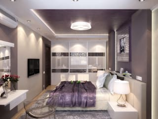 Modern style bedroom by Студия дизайна Interior Design IDEAS Modern