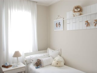 Nursery/kid's room by Asenne Arquitetura,