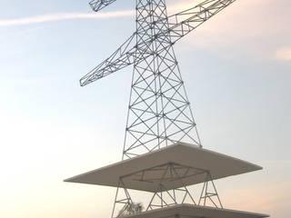 Mast (model woonproject):  Huizen door blikvanger