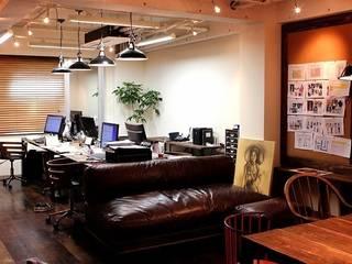 Yunhee Choe Bureau original Bois Effet bois