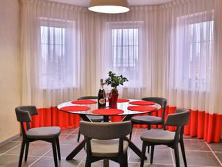 Minimalist dining room by Design Studio Irina Tsimbalist Minimalist