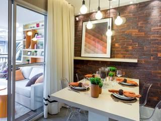 Barra Funda | Decorados: Sala de jantar  por SESSO & DALANEZI,