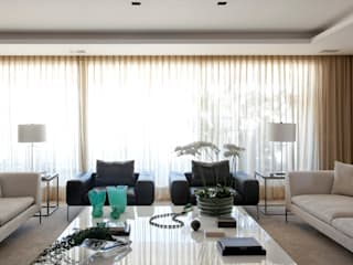 Apartamento São Paulo Salas de estar modernas por Liane Mazeron Rump Arquitetura Moderno