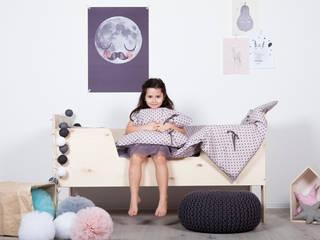 Pościel dziewczęca bawełniana w groszki od My Label Skandynawski