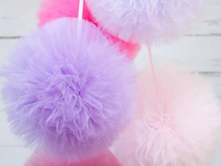 Pompony tiulowe: styl , w kategorii Pokój dziecięcy zaprojektowany przez My Label