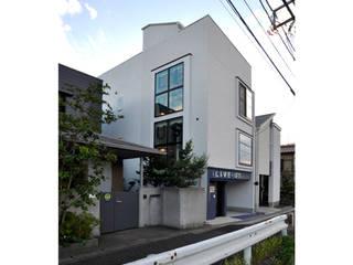 Moderne huizen van 辻史彰建築研究所 Modern