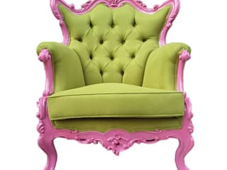 EVMAMBO.COM – Pink Green Retro Koltuk:  tarz