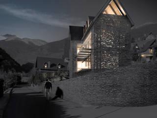 Casa Matta Clark Maisons minimalistes par Munvez Serra Sarl Minimaliste