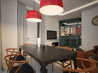 Dining room by My-Logic, Modern