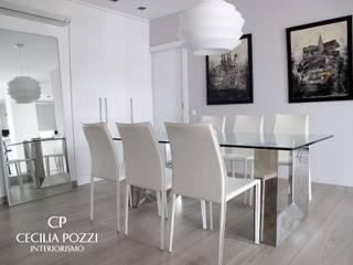 모던스타일 다이닝 룸 by CECILIA POZZI INTERIORISMO 모던