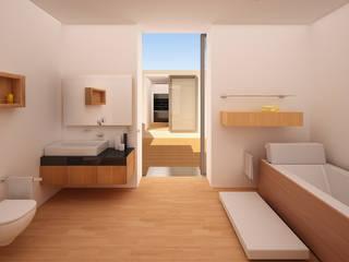Baños de estilo moderno de GodoyArquitectos Moderno