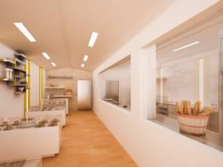 Espacios comerciales de estilo moderno de GodoyArquitectos Moderno