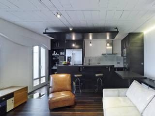 Salas de estar  por Ameneiros Rey | HH arquitectos, Minimalista