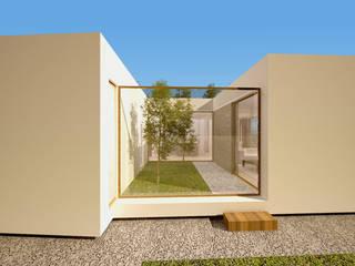 Jardines de estilo moderno de GodoyArquitectos Moderno