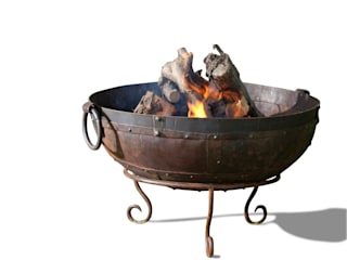 Firebowls: industrial  by Hen and Hammock, Industrial