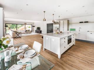Farnham extension: modern Kitchen by C7 architects