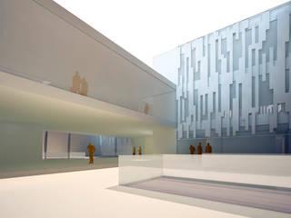 Escuelas de estilo moderno de GodoyArquitectos Moderno