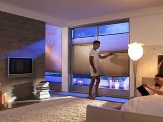 Tende Blackout per la camera da letto:  in stile  di Lasciati Tendare