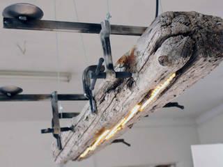 Compelling Reasons - Lichtskulptur Treibholz:   von deGroeger