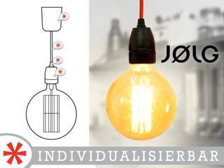 """Pendelleuchte """"GOLD"""":   von JØLG Industrielampen"""