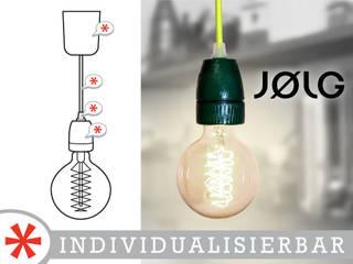"""Pendelleuchte """"GLOBE"""":   von JØLG Industrielampen"""