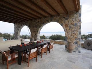 CARLO CHIAPPANI interior designer Mediterranean style balcony, veranda & terrace