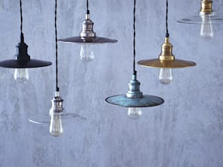 Fowey Pendant Light: industrial  by Rowen & Wren, Industrial
