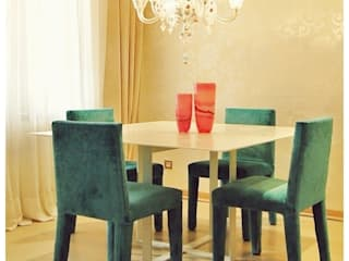 Eclectic style dining room by Cardellach Interior & Events Eclectic