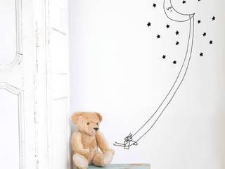 Habitación del bebé de Chispum Moderno