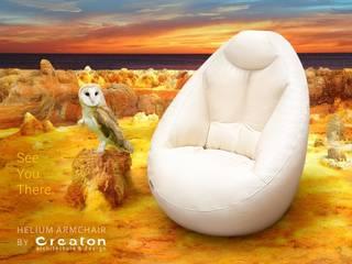 HELIUM ARMCHAIR - Top comfort: modern  von CREATON design,Modern