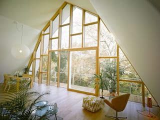 Salas de estar modernas por rundzwei Architekten