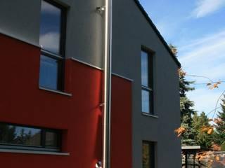 Doppelwandige Edelstahlschornsteine iKontor Minimalistische Häuser