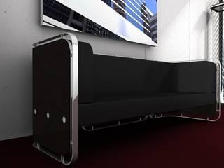 Couch Serie WoodnSteel:   von Lange Für Mich