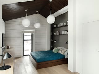ZE|Workroom studio Scandinavian style bedroom