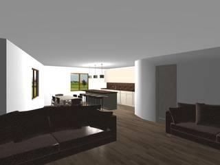 حديث  تنفيذ studio design d'interni Frigerio Lisa, حداثي