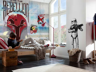 Star Wars Photomural 'Rebels Wall' ref 8-485 di Paper Moon Moderno