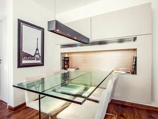 projeto  RD  Salas de jantar modernas por Camila Bruzamolin - arquitetura Moderno