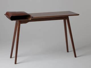 Leather Desk:   by Tortie Hoare