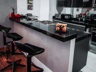 Apartamento Campo Belo: Cozinhas  por SP Estudio ,Moderno