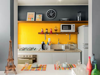 Кухни в . Автор – Ambientta Arquitetura, Эклектичный