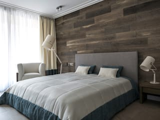 ALEXANDER ZHIDKOV ARCHITECT Scandinavian style bedroom