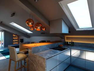 Cozinhas  por lab21studio, Industrial