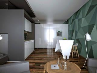 Salas de estar  por lab21studio, Minimalista