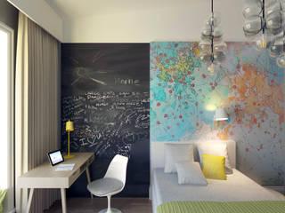 Детская Детские комната в эклектичном стиле от lab21studio Эклектичный