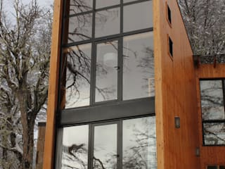 Scandinavian style hotels by Aguirre Arquitectura Patagonica Scandinavian